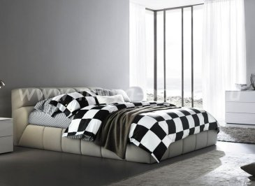 Кпб сатин Семейный 2 наволочки (шахматная клетка) в интернет-магазине Моя постель