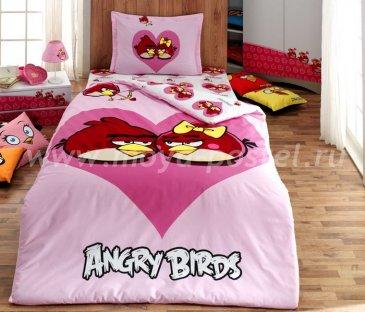 Angry birds (влюбленные птицы) в интернет-магазине Моя постель