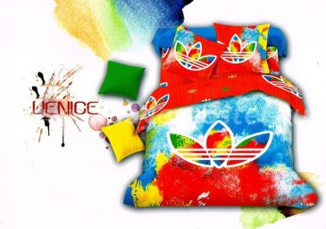 """Кпб сатин Евро 2 наволочки """"Adidas"""" в интернет-магазине Моя постель"""