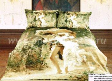 Кпб сатин 1,5 спальный (Орфей и Эвридика) в интернет-магазине Моя постель