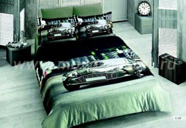 Постельное белье  Bamboo 3D Digital 1331-43, евро в интернет-магазине Моя постель