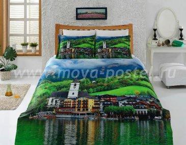 КПБ Bamboo 3D Digital Т19209 в интернет-магазине Моя постель