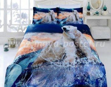 КПБ Bamboo 3D Digital T19213 в интернет-магазине Моя постель