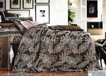 КПБ Жаккард TJ300-1 евро 4 наволочки в интернет-магазине Моя постель