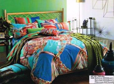 Семейное постельное белье сатин 2 наволочки (лоскуты) в интернет-магазине Моя постель