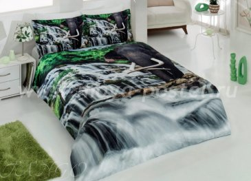 КПБ Ranforce VS 3D Digital (слон на водопадах) в интернет-магазине Моя постель