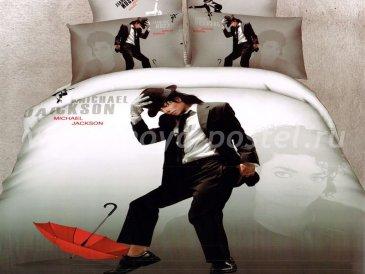 Кпб сатин Евро 2 наволочки (Майкл Джексон) в интернет-магазине Моя постель