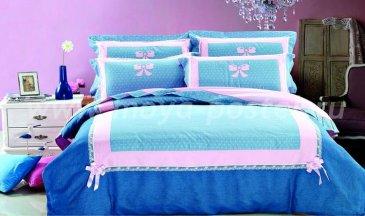 """Постельное белье Beding Set сатин евро 2 наволочки """"Cristelle"""" TCR04-01 в интернет-магазине Моя постель"""