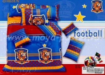 Постельное белье TPIG6-888 Twill Сборная Испании по футболу евро 4 наволочки в интернет-магазине Моя постель