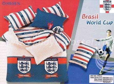 Постельное белье TPIG4-963 Twill евро 4 наволочки, Сборная Англии по футболу в интернет-магазине Моя постель