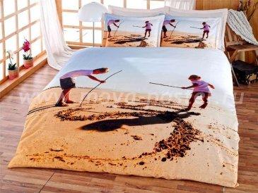 КПБ Bamboo 3D Digital 1331-25, евро в интернет-магазине Моя постель