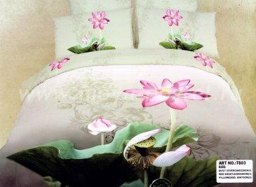 Кпб сатин TS03-247 Евро 2 наволочки в интернет-магазине Моя постель