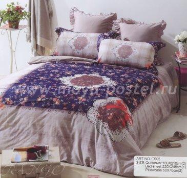 Постельное белье TS03-335 евро 2 наволочки в интернет-магазине Моя постель