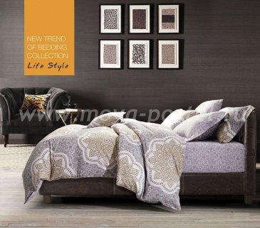 Кпб сатин евро TS04-666 4 наволочки (мехенди) в интернет-магазине Моя постель