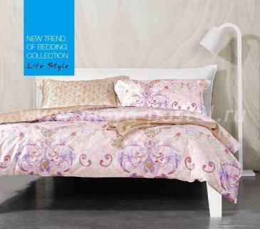 Семейное постельное белье сатин 2 наволочки TS05-686 в интернет-магазине Моя постель