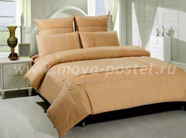 КПБ TANGO GIPUR Евро 4 нав., светло-коричневый в интернет-магазине Моя постель