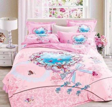 Постельное белье TS02-726-50 сатин двуспальное в интернет-магазине Моя постель