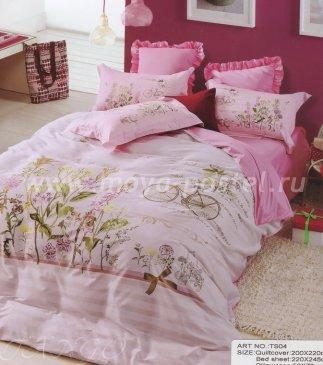 Постельное белье сатин TS02-12-70 двуспальное в интернет-магазине Моя постель