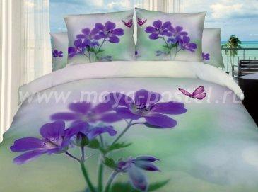 Постельное белье евро стандарта TS03-83 сатин 2 наволочки в интернет-магазине Моя постель