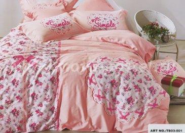 Кпб сатин TS03-501 Евро 2 наволочки в интернет-магазине Моя постель