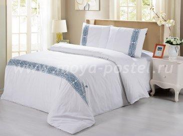 """Постельное белье Bed Set сатин евро 2 наволочки """"Cristelle"""" CR03-01 в интернет-магазине Моя постель"""