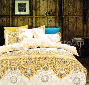 Twill семейный (желто-розовые узоры) в интернет-магазине Моя постель