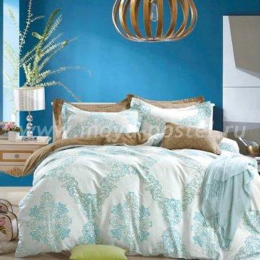 Twill 2 спальный (бирюзовый орнамент) в интернет-магазине Моя постель