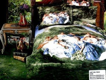 Кпб сатин TS03-204 Евро 2 наволочки в интернет-магазине Моя постель