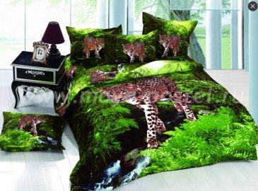 Постельное белье из сатина TS01-600, полуторное в интернет-магазине Моя постель