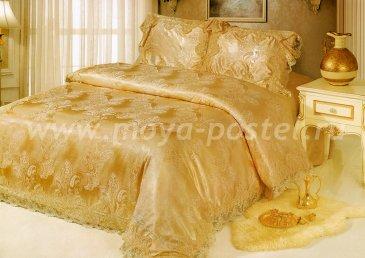 КПБ Жаккард Cristelle Blue marine TJ0600-28, евро в интернет-магазине Моя постель