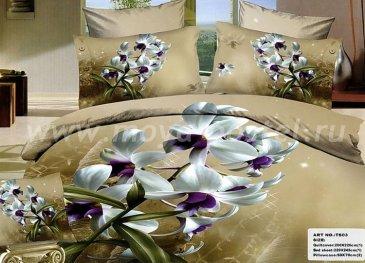 Кпб сатин Евро TS03-946 2 наволочки в интернет-магазине Моя постель