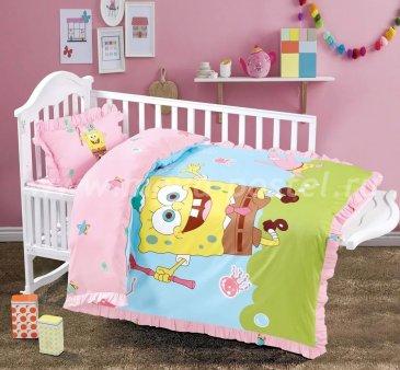 Постельное белье для новорожденных Tango HamiCat Ясли (Губка Боб) в интернет-магазине Моя постель