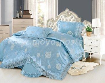 КПБ Жаккард Cristelle Blue marine TJ0600-34, евро в интернет-магазине Моя постель