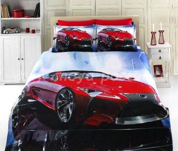 КПБ Bamboo 3D Digital 1331-47, евро в интернет-магазине Моя постель