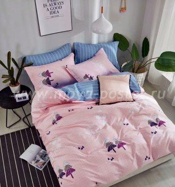 Постельное белье TPIG6-551 Twill евро 4 наволочки в интернет-магазине Моя постель