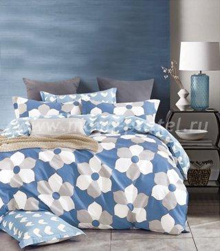 Twill семейный (геометричные цветы) в интернет-магазине Моя постель