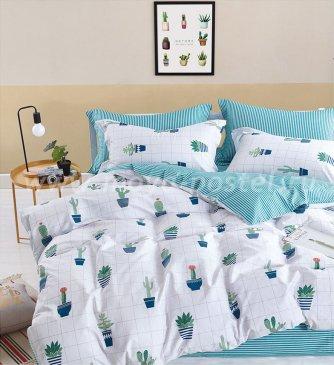 Постельное белье евро формата сатин 2 наволочки TS03-X59 в интернет-магазине Моя постель