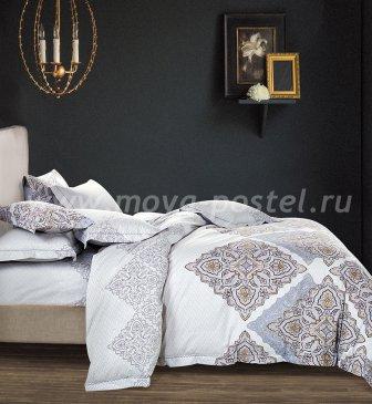 Постельное белье евро стандарта TS03-X11 сатин 2 наволочки в интернет-магазине Моя постель