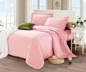 КПБ CIS07-32 Египетский хлопок однотонный, розовый в интернет-магазине Моя постель