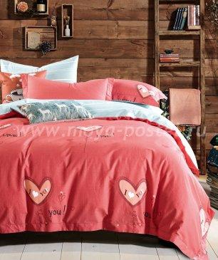 Полуторное постельное белье сатин TS01-X61 в интернет-магазине Моя постель