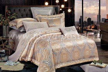 КПБ Cristelle Venice TJ111-41 Жаккард Евро 2 наволочки в интернет-магазине Моя постель