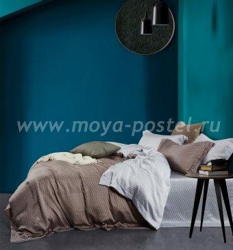 КПБ TT6-74 Tencel евро 4 наволочки в интернет-магазине Моя постель