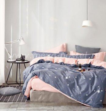 Twill 2 спальный 50*70 (звезды на сером) в интернет-магазине Моя постель