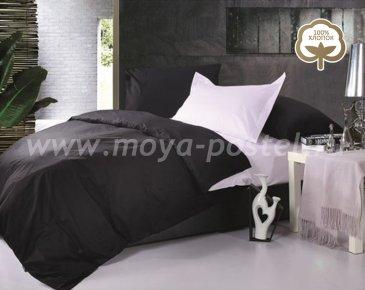 КПБ JT19 код1014 Сатин однотонный евро 2 наволочки в интернет-магазине Моя постель