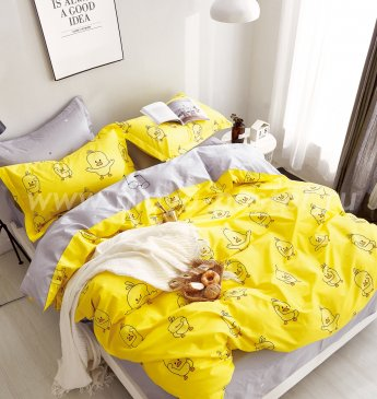 Постельное белье с животными TPIG2-194-50 Twill двуспальное в интернет-магазине Моя постель