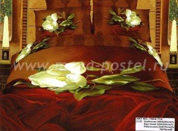 Постельное белье TS04-11A евро 4 наволочки в интернет-магазине Моя постель