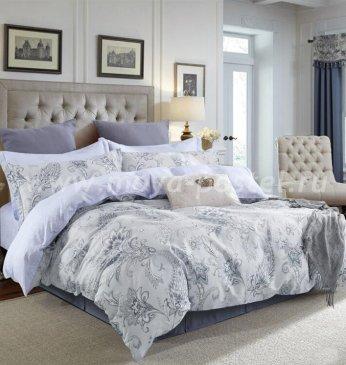 Twill 2 спальный (серо-голубые узоры) в интернет-магазине Моя постель