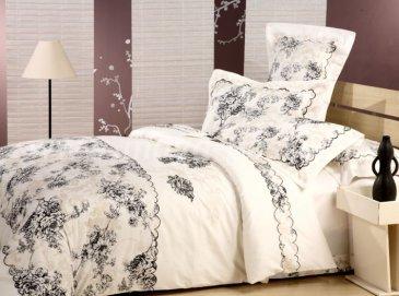 """Постельное белье Beding Set сатин евро 2 наволочки """"Cristelle"""" TCR04-10 в интернет-магазине Моя постель"""
