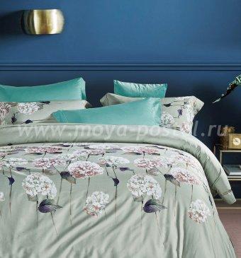 Комплект постельного белья TIS07-132 Египетский хлопок евро 4 наволочки в интернет-магазине Моя постель