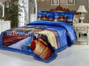 Покрывало Сатин-панно Tango 2001-857 - интернет-магазин Моя постель